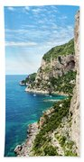 Isle Of Capri Beach Towel