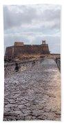 Islote De Los Ingleses - Lanzarote Beach Towel