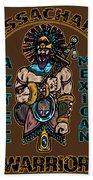 Issachar Aztec Warrior Beach Towel