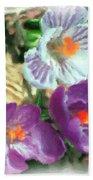 Ist Flowers In The Garden 2010 Beach Towel