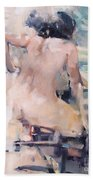 Italian Bathers 2 Beach Towel
