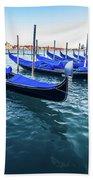 Italian Blue Beach Towel
