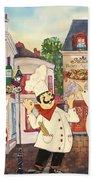 Italian Chefs-jp3042 Beach Towel