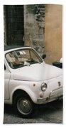 Italian Classic Commute  Beach Sheet