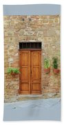 Italy - Door Six Beach Towel