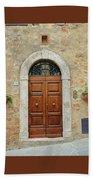 Italy - Door Twelve Beach Towel