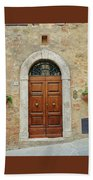 Italy - Door Twelve Beach Towel