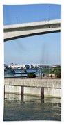 Itchen Bridge Southampton Beach Towel