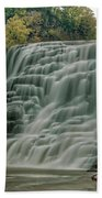 Ithaca Falls Beach Towel