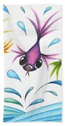 It's A Fun World Out There Beach Towel