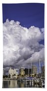 It's All About The Clouds Beach Towel