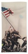Iwo Jima Beach Towel