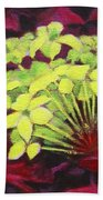 Ixora - Jungle Flame Beach Towel