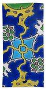 Iznik Tiles In Topkapi Palace Istanbul  Beach Sheet