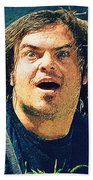 Jack Black - Tenacious D Beach Towel