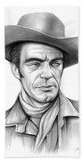 Cowboy Jack Elam Beach Towel
