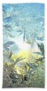 Jack Frost Masterpiece Beach Towel
