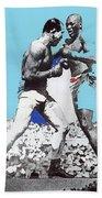 Jack Johnson Jim Jeffries Bout July 4th Reno Nevada 1910-2008 Beach Towel