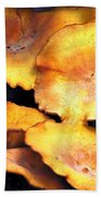 Jack O Lantern Mushrooms Beach Sheet