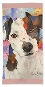 Jack Russell Terrier Beach Towel