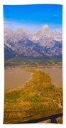 Jackson Hole Wy Tetons National Park Views Beach Towel