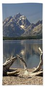 Jackson Lake 1 Beach Towel