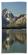 Jackson Lake 2 Beach Towel