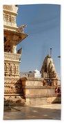 Jagdish Hindu Temple, Udaipur Beach Towel