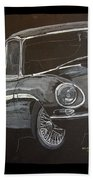 Jaguar E Type Beach Towel