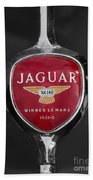 Jaguar Medallion Beach Towel