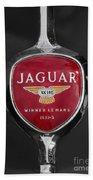 Jaguar Medallion Beach Towel