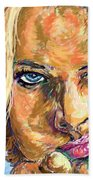 Jaime Pressly Beach Towel