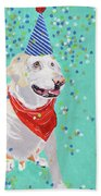 Jake The Party Animal Beach Towel