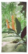 Jamaican River Beach Towel