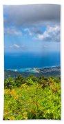 Jamaican Vista Beach Towel