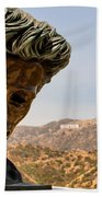 James Dean - Griffith Observatory Beach Towel