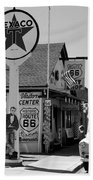 James Dean On Route 66 Beach Towel