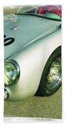James Dean Porsche Spyder 550 Beach Towel