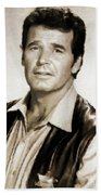 James Garner By Mb Beach Towel