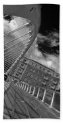 James Joyce Bridge 2 Bw Beach Towel