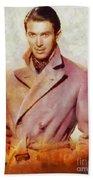 James Stewart, Vintage Hollywood Legend Beach Towel