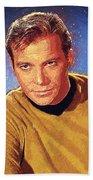 James T. Kirk Beach Towel
