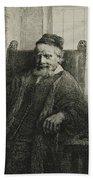 Jan Lutma, The Elder, Goldsmith And Sculptor Beach Towel