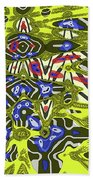 Janca Abstract # 6731eac1 Beach Towel