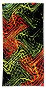 Janca Abstract Panel #5473w3 Beach Towel