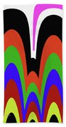 Jancart Drawing Abstract #8455pc Beach Towel