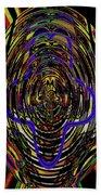 Jancart Drawing Glass 8455dwtpcg Beach Towel