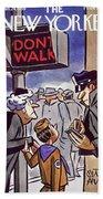 New Yorker January 24 1959 Beach Sheet
