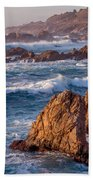 January In Big Sur Beach Towel
