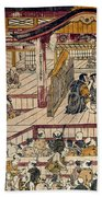Japan: Kabuki Theater Beach Towel
